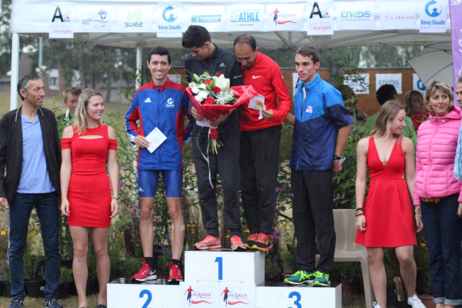 podium 1500m